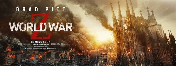World War Z Sagrada Familia
