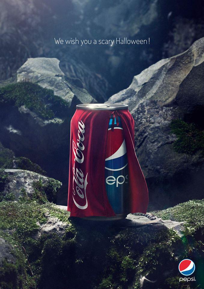 Pepsi se disfraza de Coca-Cola