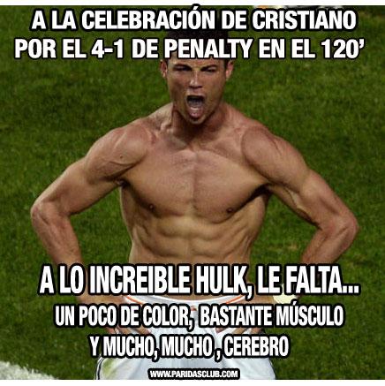 Cristiano Ronaldo Hulk