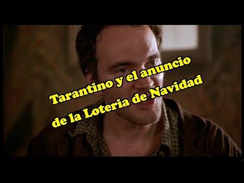 El anuncio de la Lotería de Navidad según Tarantino