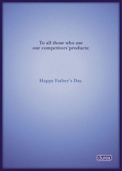 Durex felicita el Dia del Padre