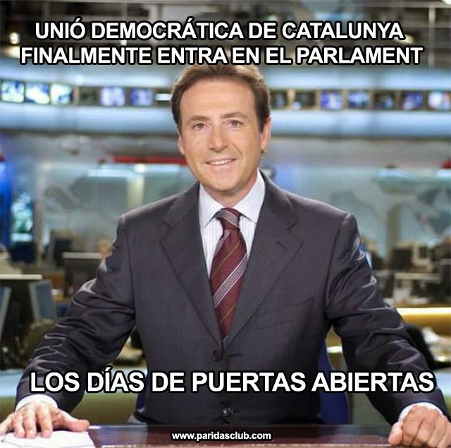 UDC entra en el Parlament de Catalunya