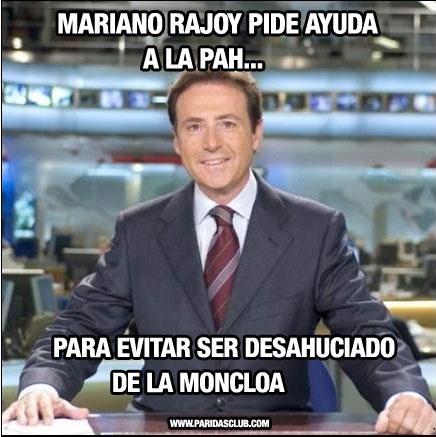 Mariano Rajoy pide ayuda a Ada Colau