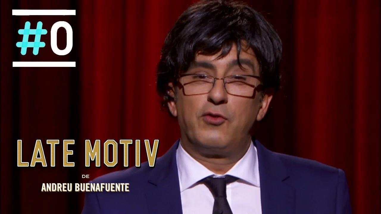 Late Motiv: Buenafuente es Carles Puigdemont