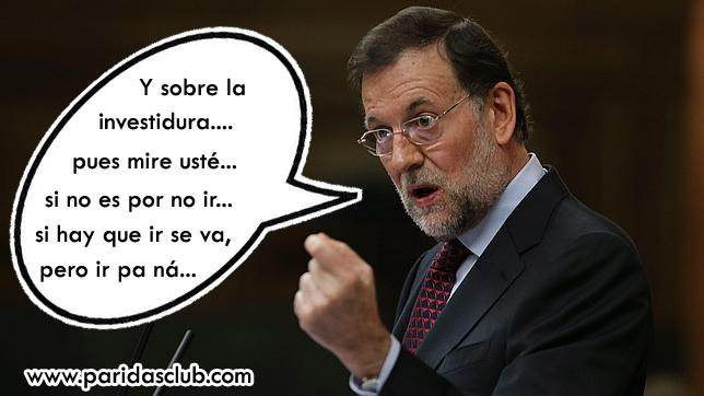 Rajoy Investidura 2016