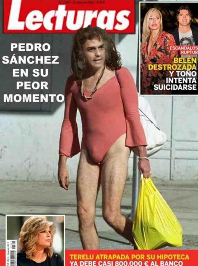 lLecturas. Pedro Sanchez en su peor momento