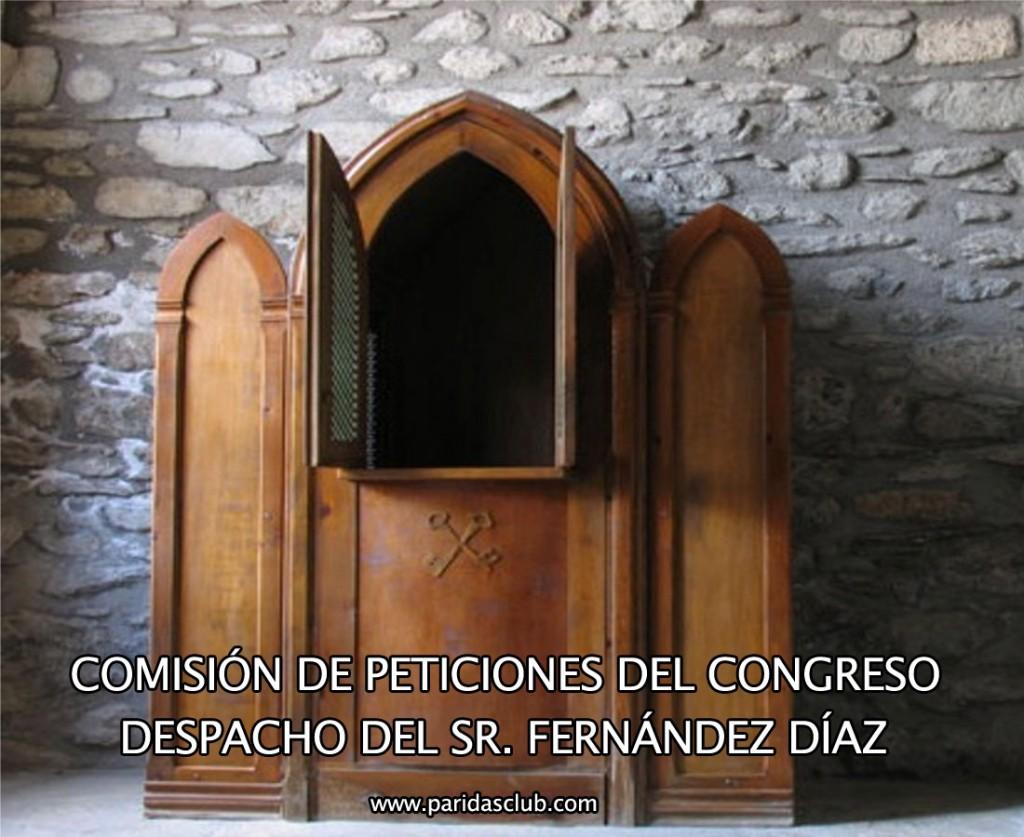 Fernandez Diaz presidente de la comisión de Peticiones del Congreso