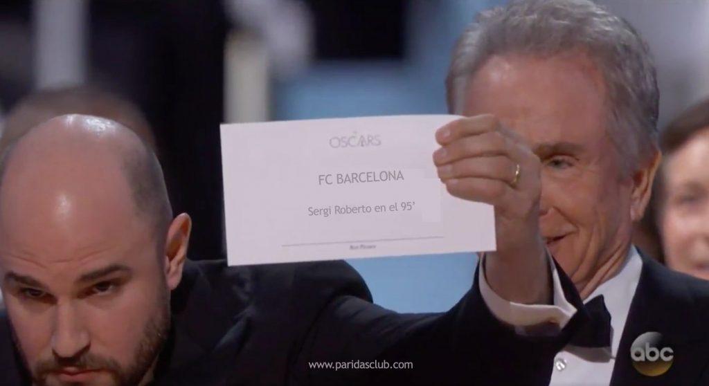 FCB - PSG remontada de OScar