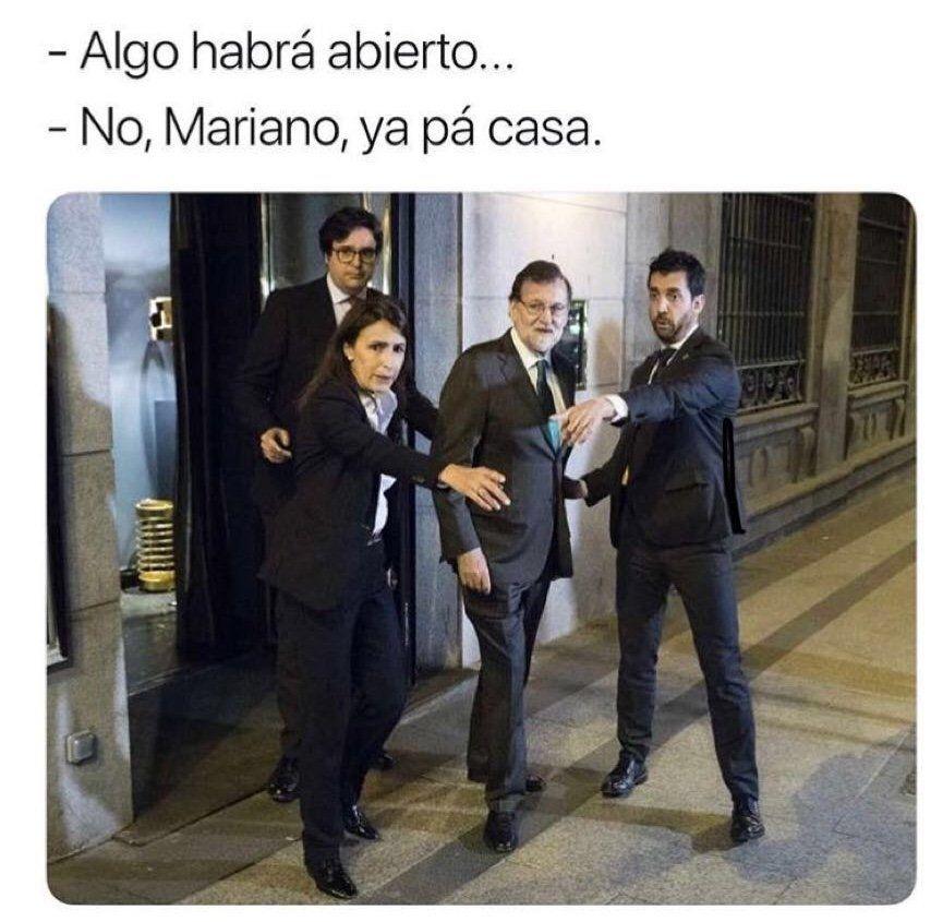 Rajoy borracho