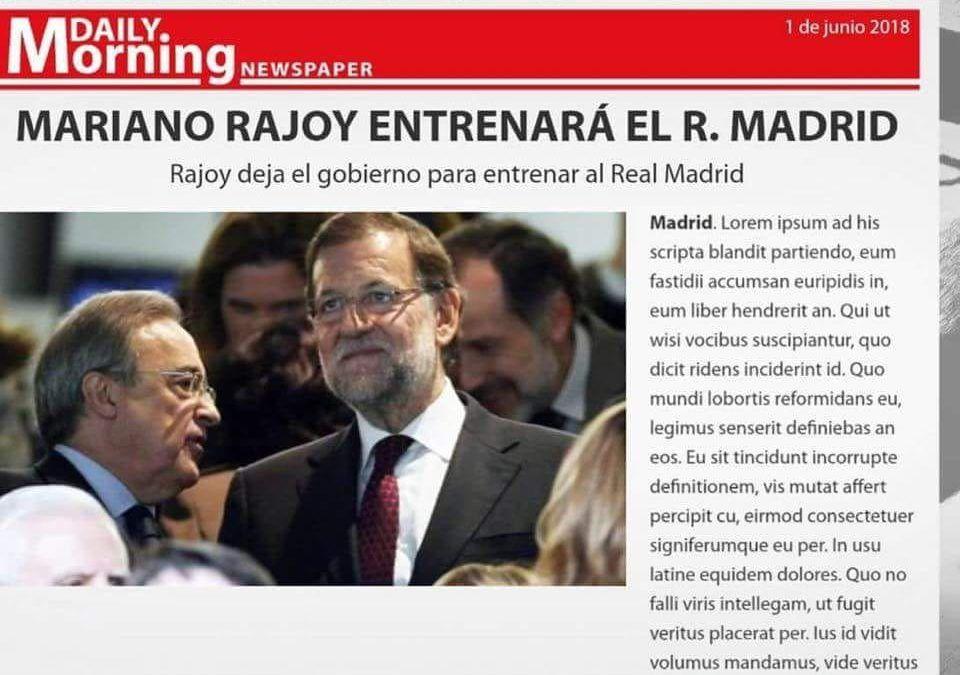 La caída de la Casa Ush… Rajoy
