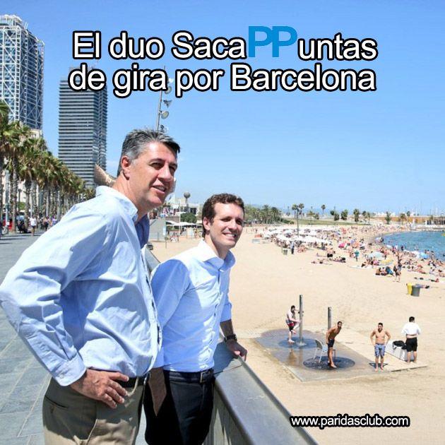 El Duo SacaPPuntas de gira por Barcelona