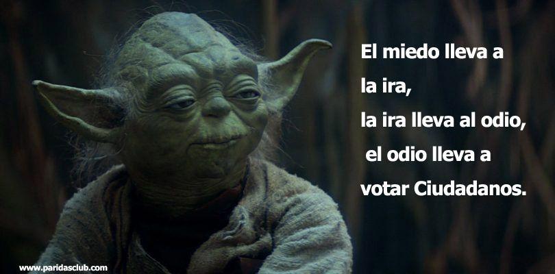 El odio lleva a votar…