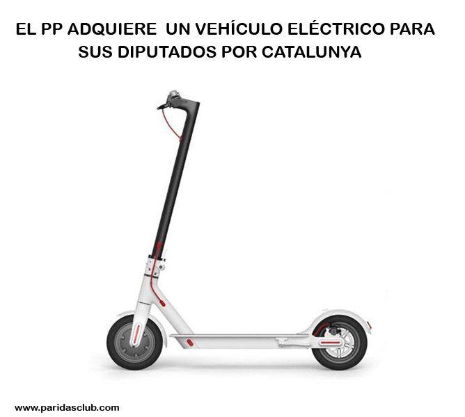 El PP adquiere un vehículo eléctrico