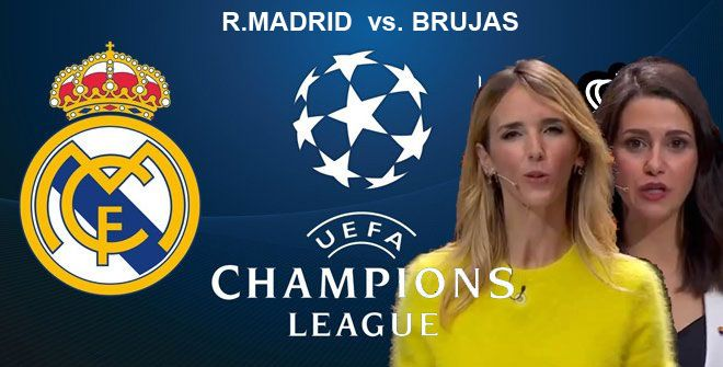 R.Madrid vs. Brujas Champions League