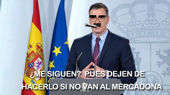 Pedro Sánchez es Groucho Marx