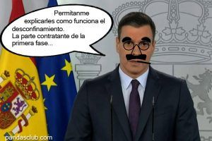 Desconfinamiento Segun Groucho MArx