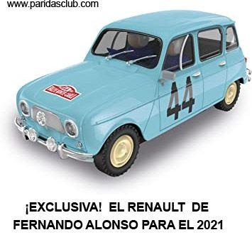 El Renault de Fernando Alnonso para 2021